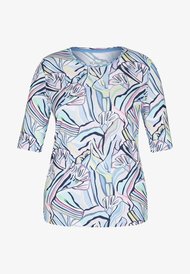Långärmad tröja - blau