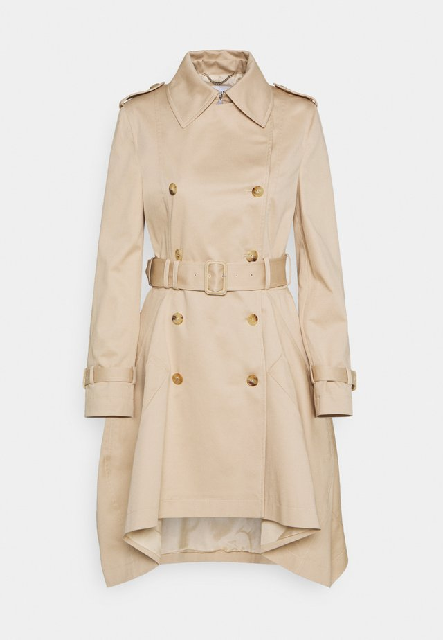LONG JACKET - Trenchcoats - beige