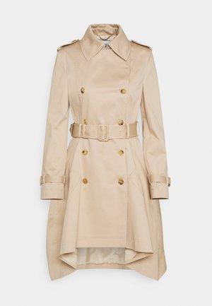 LONG JACKET - Trenchcoat - beige