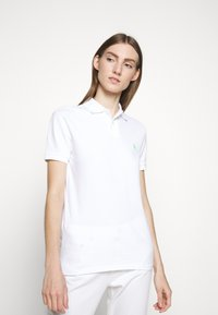Polo Ralph Lauren - BASIC - Polo - white/ant neon - 3