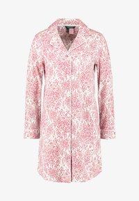 Lauren Ralph Lauren - CLASSIC NOTCH COLLAR SLEEPSHIRT - Noční košile - red - 4