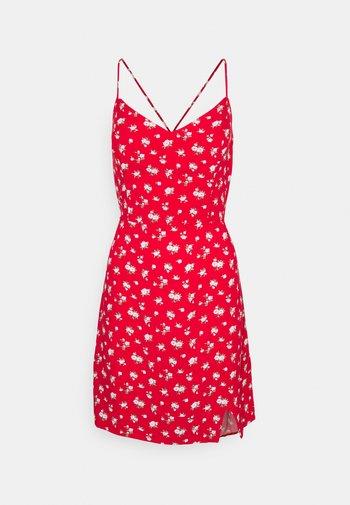 SHORT DRESS - Vestito estivo - red