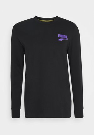 CLUB LONGSLEEVE TEE UNISEX - Long sleeved top - puma black