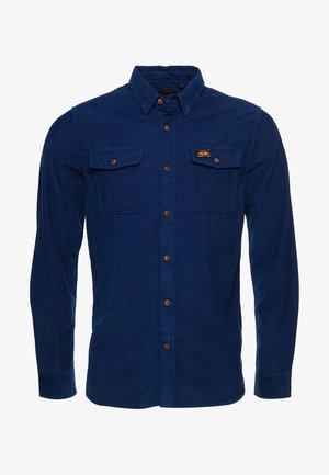 TRAILSMAN CORD - Shirt - rinse wash indigo