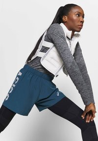 ASICS - RACE SEAMLESS - Camiseta de deporte - dark grey melange - 3