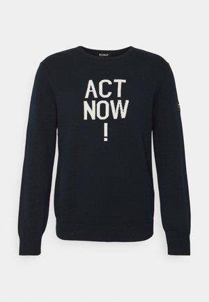 NIMES ACT NOW  - Svetr - midnight navy