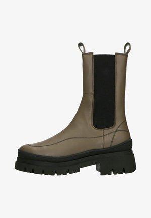 Korte laarzen - dunkelgrün