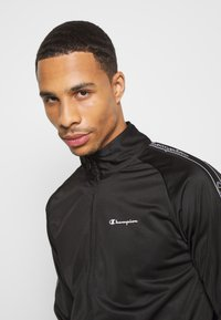 Champion - LEGACY TAPE TRACKSUIT SET - Tuta - black - 5