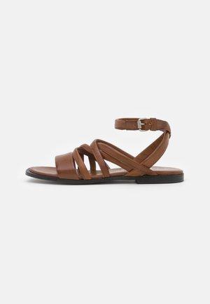 GRECA - Sandals - mustard