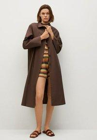 Mango - Classic coat - marron - 0