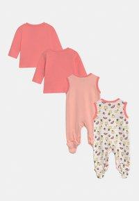 Jacky Baby - GIRLS 2 PACK - Pyjama set - light pink/white - 1