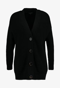 Selected Femme - SLFBAILEY BUTTON CARDIGAN - Cardigan - black - 3