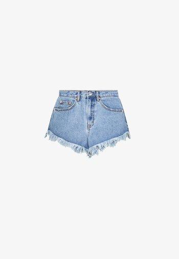 Short en jean - blue