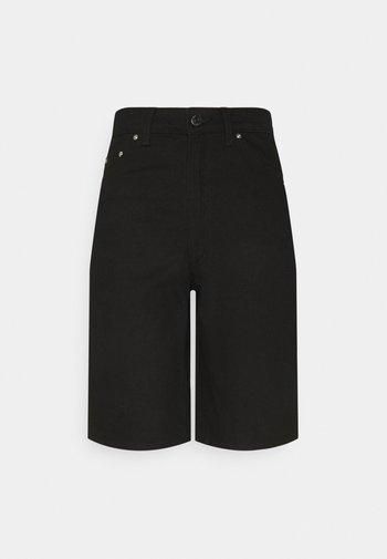 ELLIE - Shorts di jeans - black denim