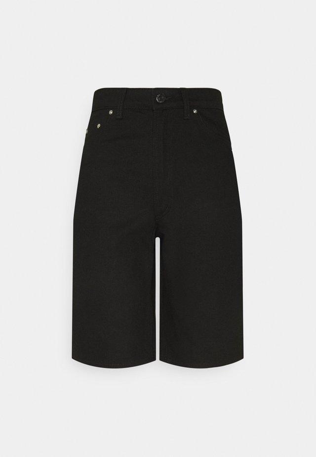 ELLIE - Shorts - black denim