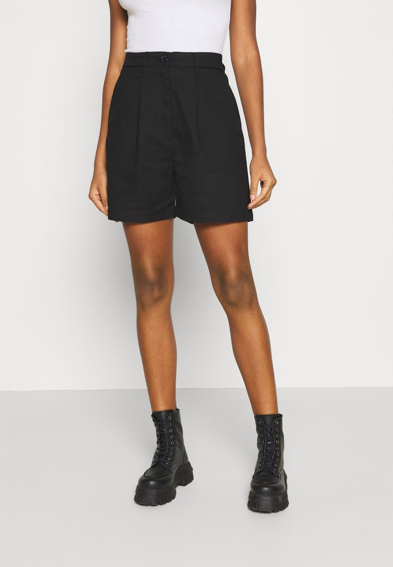 Monki - NIMMI SUITING  - Shorts - black dark unique