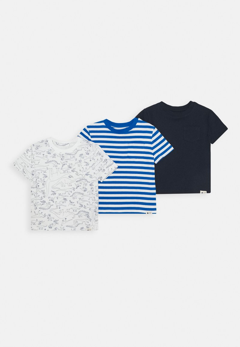 GAP - TODDLER BOY 3 PACK - T-shirt print - blue galaxy