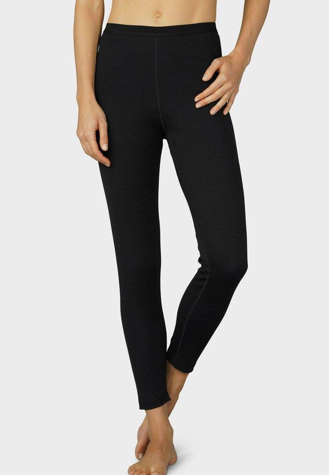 LANGE UNTERHOSE SERIE PERFORMANCE - Leggings - Trousers - schwarz