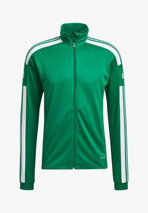 Training jacket - gruenweiss