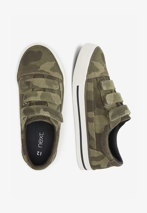WHITE STRAP TOUCH FASTENING SHOES (OLDER) - Trainers - green