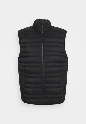 LIGHTWEIGHT QUILTED VEST - Vesta - black