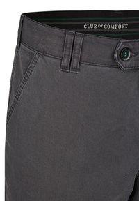Club of Comfort - DENVER IM GERADEN SCHNITT - Trousers - grey - 3
