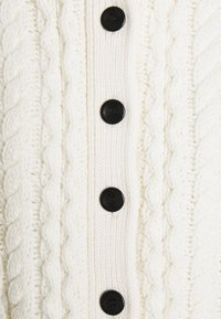 Proenza Schouler White Label - CABLE BUTTON BACK - Cardigan - ivory - 7