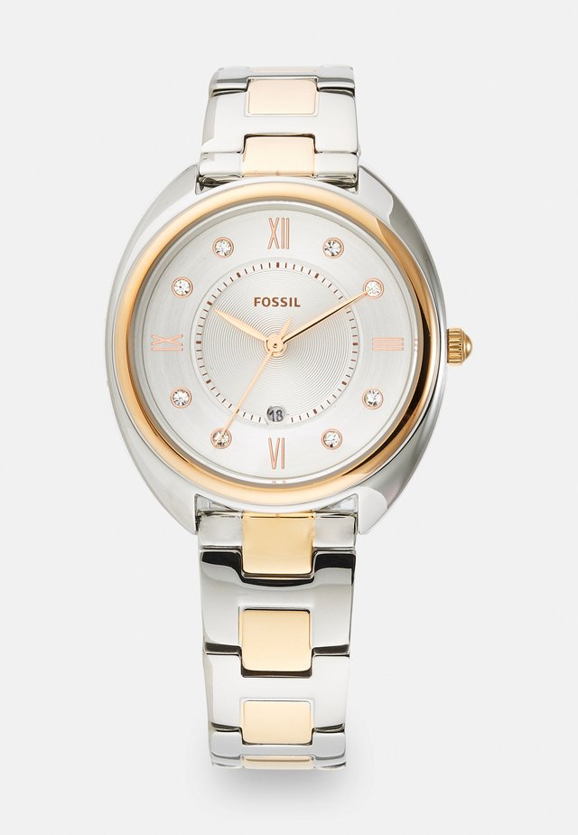 GABBY - Klocka - silver-coloured/rose gold-coloured