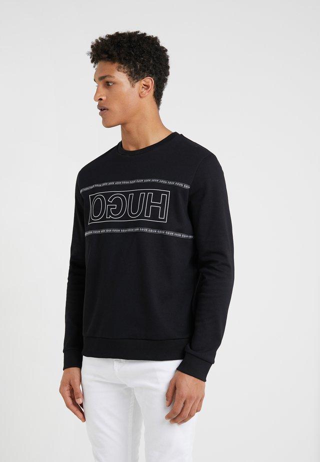 DICAGO - T-shirt à manches longues - black