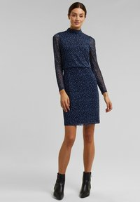 Esprit Collection - Shift dress - navy - 1