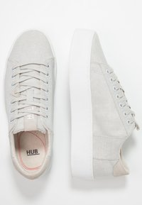 HUB - HOOK XL - Sneakers - neutral grey/white - 3