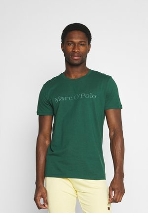 SHORT SLEEVE - Print T-shirt - mystic green