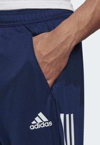 adidas Performance - CONDIVO 20 PRIMEGREEN PANTS - Träningsbyxor - blue - 4