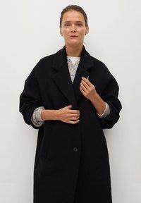 Mango - GAUGUIN - Classic coat - schwarz - 2