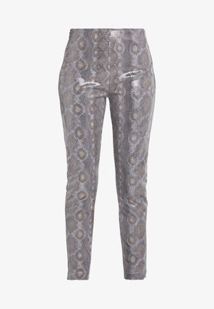 TROUSERS - Tygbyxor - natural