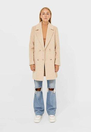 BASIC - Classic coat - light brown