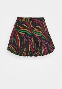 Farm Rio - SHINNY ZEBR BALLOON SKIRT - Mini skirt - multi - 3
