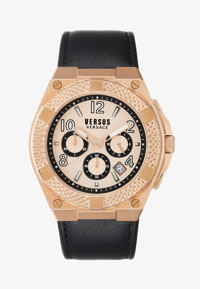 ESTÈVE - Chronograph - black/light pink