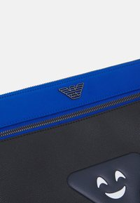Emporio Armani - HANDBAG - Laptop bag - brightblue / electric blue/black - 4