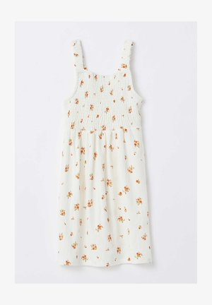 REGULAR FIT  - Jersey dress - white