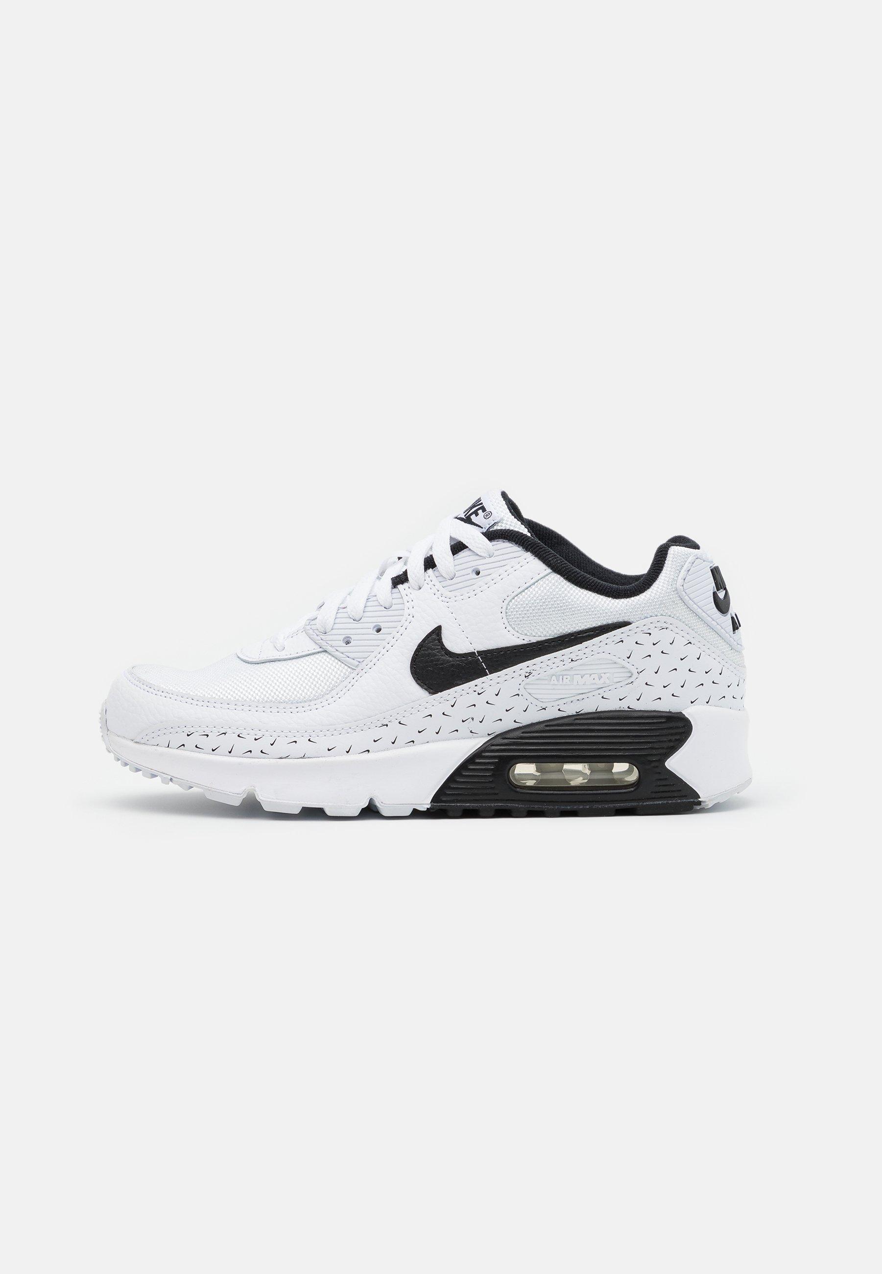 Nike Sportswear AIR MAX 90 UNISEX - Baskets basses - white/black ...