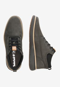 Timberland - CROSS MARK PT CHUKKA - Sneakersy niskie - dark green - 1