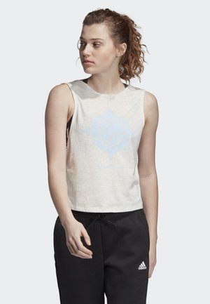 WANDERLUST GRAPHIC TANK TOP - Camiseta de deporte - white