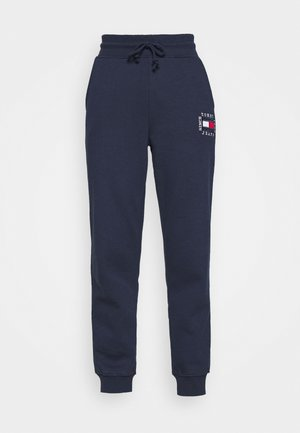 BOX FLAG PANT - Pantalon de survêtement - twilight navy