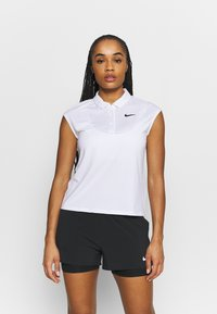 Nike Performance - VICTORY  - Sports shirt - white/black - 0