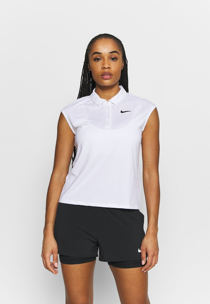 Nike Performance - VICTORY  - Sports shirt - white/black