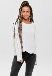 ONLY - ONLHILDE - Jumper - white - 0