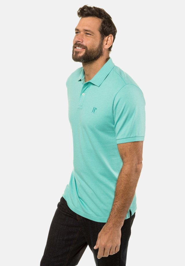 Piké - turquoise melange