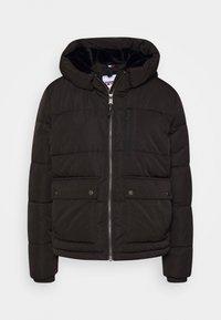 Tommy Jeans - HOODED JACKET - Winter jacket - black - 3