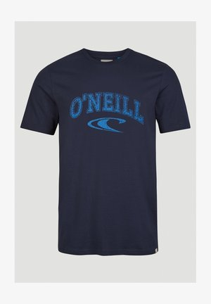 T-shirt print - ink blue
